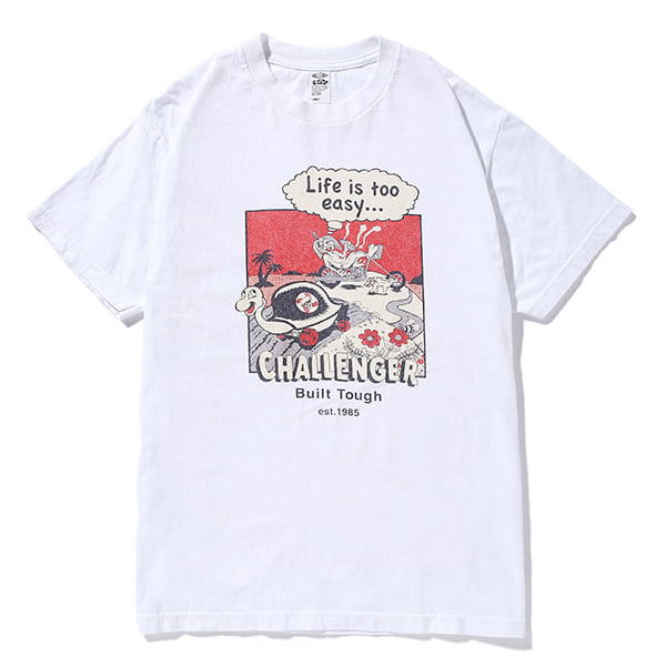 CHALLENGER   「R RABBIT TEE」 プリントティーシャツ