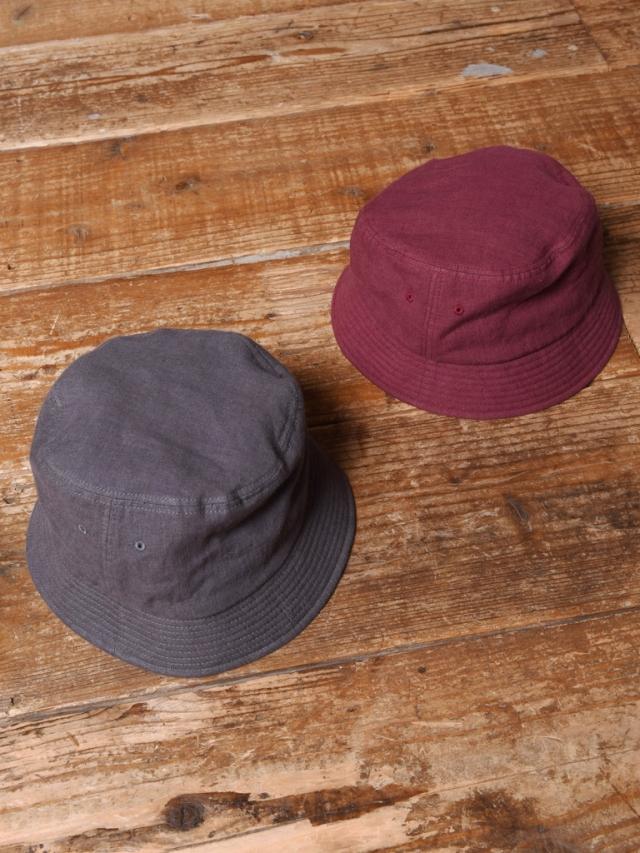 CALEE  「LINEN BUCKET HAT」 リネン バケットハット