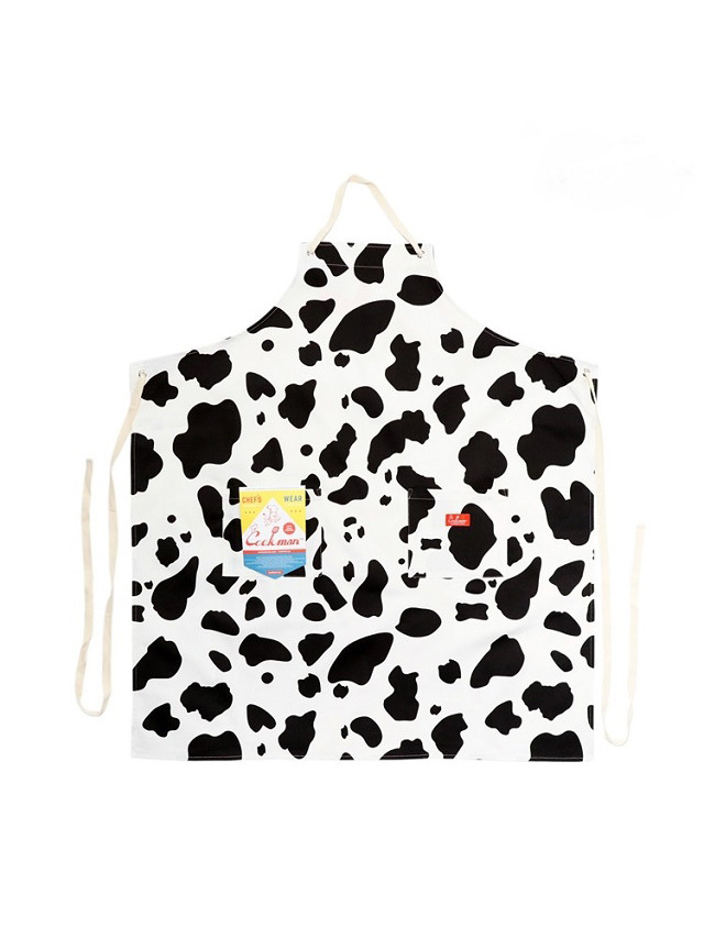 COOKMAN 「Long Apron Cow」 エプロン