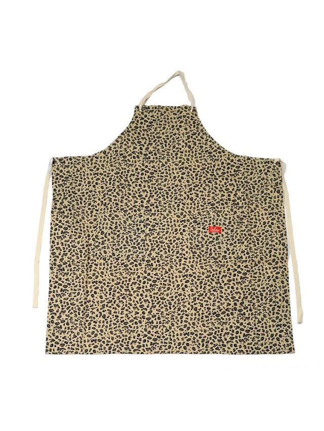 COOKMAN 「Long Apron Leopard」 エプロン