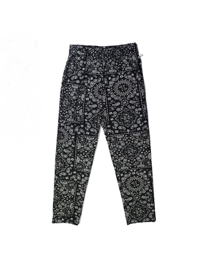 COOKMAN 「Waiter's Pants Paisley Black」 ウェイターズパンツ