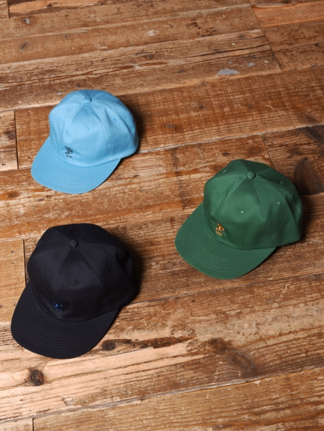CALEE   「CAL LOGO EMBROIDERY TWILL CAP」  コットンツイルキャップ