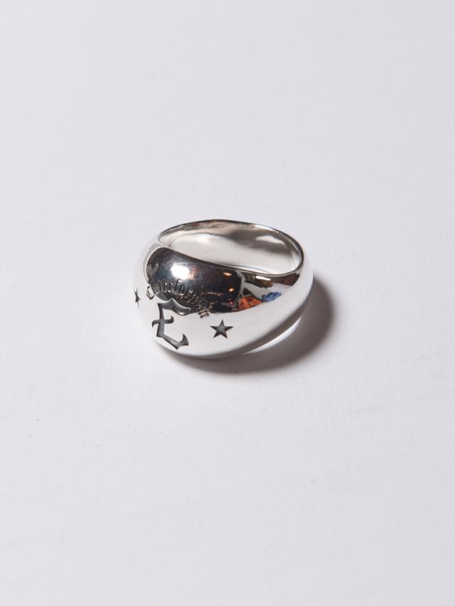 CALEE  「C LOGO CHAMPION RING 」 SILVER 925製 リング