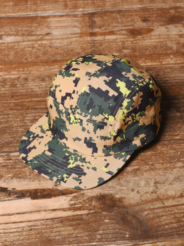 CALEE 「C/N DIGITAL CAMOUFLAGE JET CAP」  ジェットキャップ