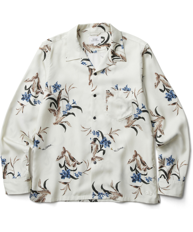 CRIMIE 「BOTANICAL and BEE ALOHA SHIRT」 レーヨンアロハシャツ