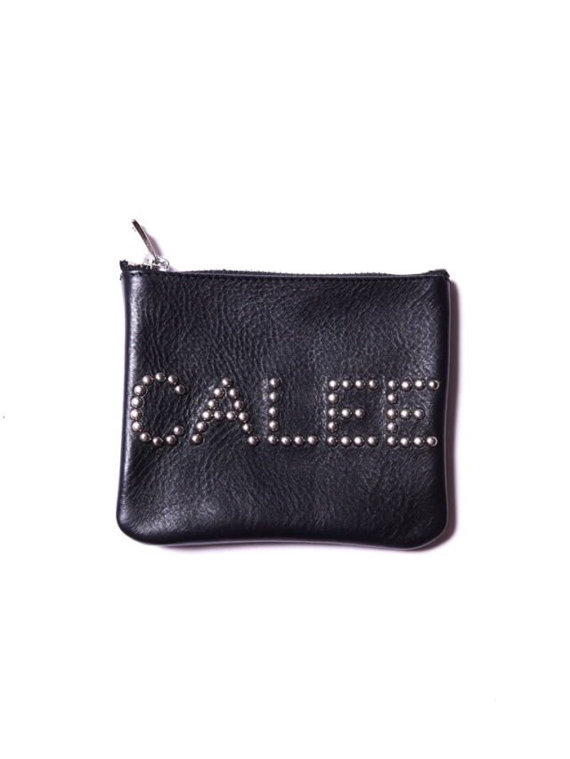 CALEE    「CALEE STUDS LEATHER PURSE」  レザーパース