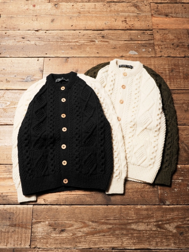 CALEE × Athena Designs  「Fisherman knit sweater  」 フィッシャーマンニットセーター