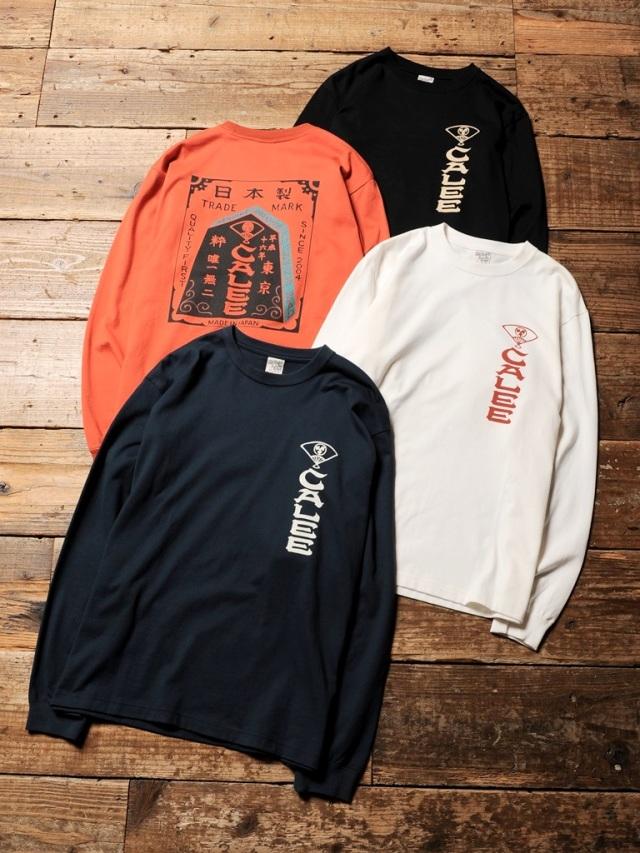 CALEE   「ORIENTAL PRINT L/S T-SHIRT」 ロングスリーブティーシャツ