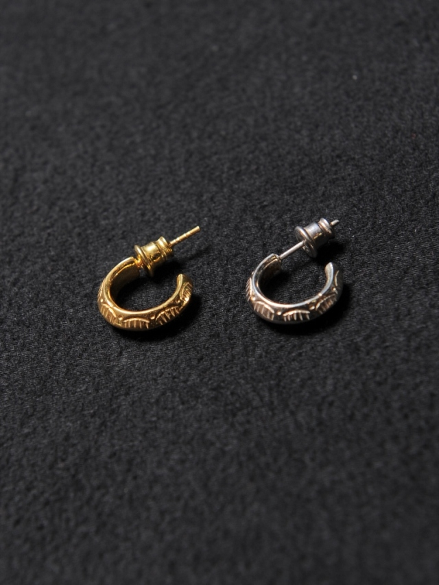 CALEE  「TRIANGLE PIERCE 〈SILVER 925 〉」 SILVER製 ロールピアス