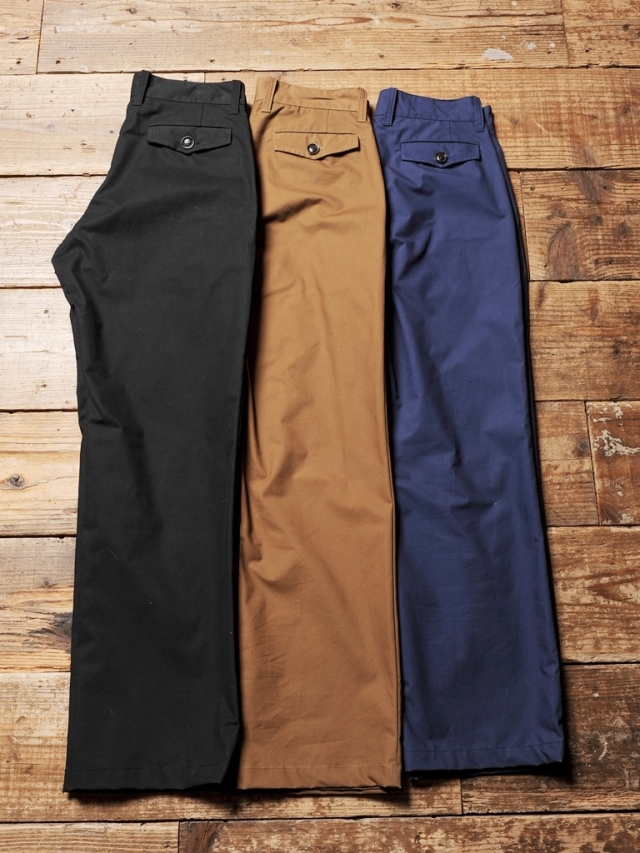 CALEE   「HORSE CLOTH TROUSER 」  トラウザーパンツ