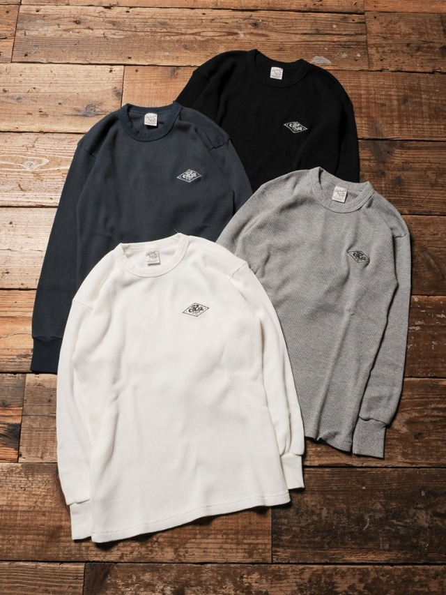 CALEE   「CREW NECK L/S THERMAL 」 クルーネックサーマル