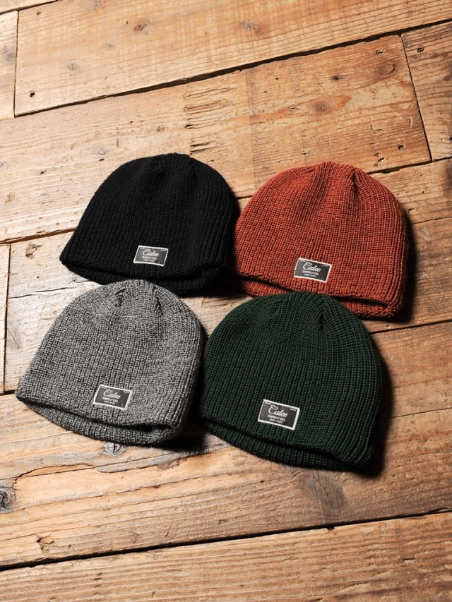 CALEE   「WOOL BEANIE CAP 」 ニットキャップ
