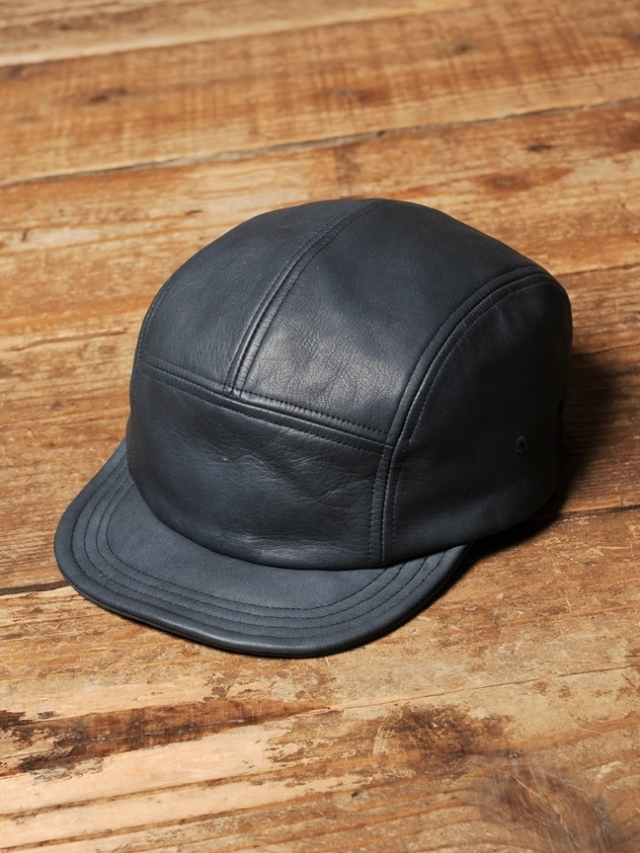 CALEE   「 LEATHER JET CAP 」 レザージェットキャップ