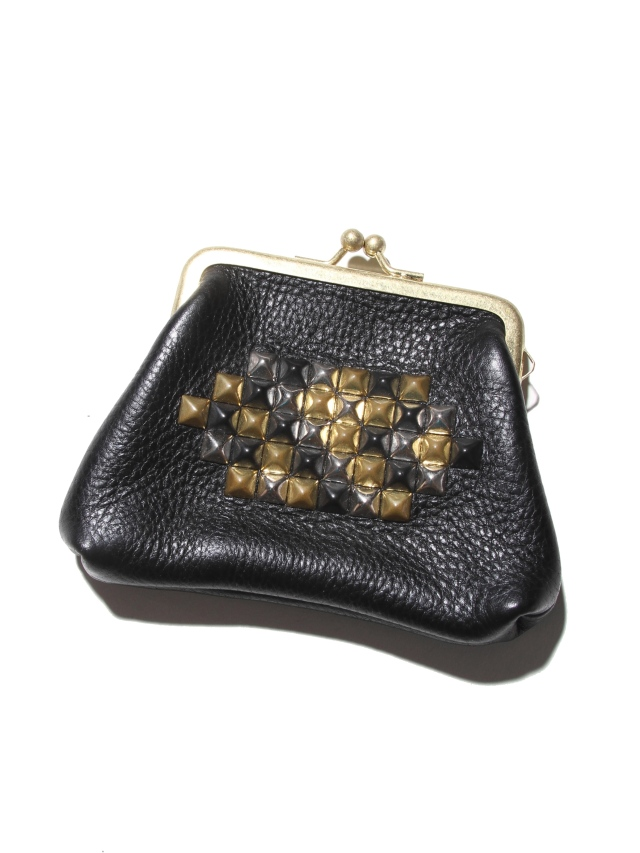 CALEE  「STUDS LEATHER COINCASE」  レザーコインケース