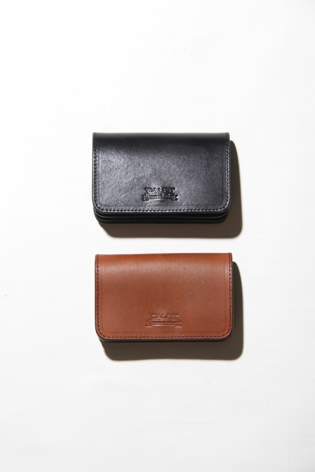 CALEE   「PLANE LEATHER MINI WALLET 」 プレーンレザーミニウォレット