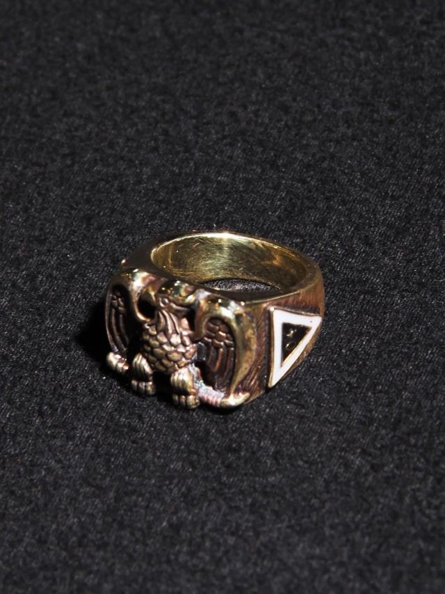 CALEE  「EAGLE PINKIE RING 〈BRASS〉」 BRASS製 ピンキーリング