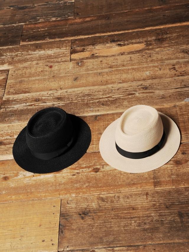 CALEE  「LINEN HAT」 リネンブレードハット