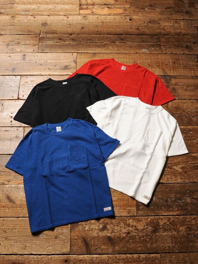 CALEE 「S/S PILE T-SHIRT」 パイルティーシャツ