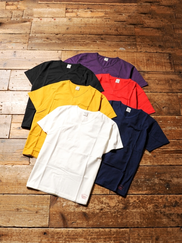 CALEE     「COTTON V-NECK T-SHIRT」 Vネック ティーシャツ