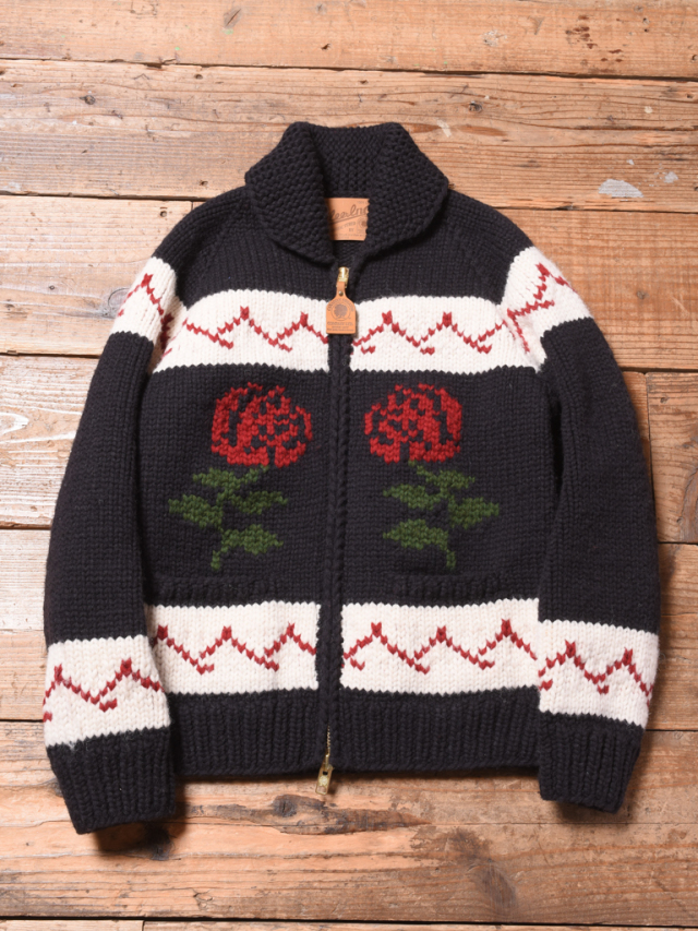 CALEE × Canadian Sweater  「COWICHAN KNIT SWEATER」   カウチンニットセーター