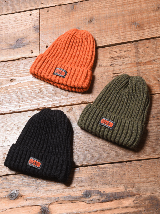 CALEE  「WOOL KNIT CAP」 ウールニット帽