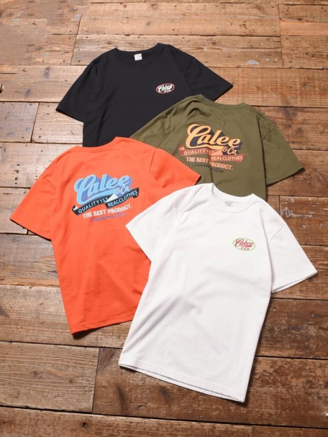CALEE  「 CALEE T-SHIRT 」    プリントティーシャツ