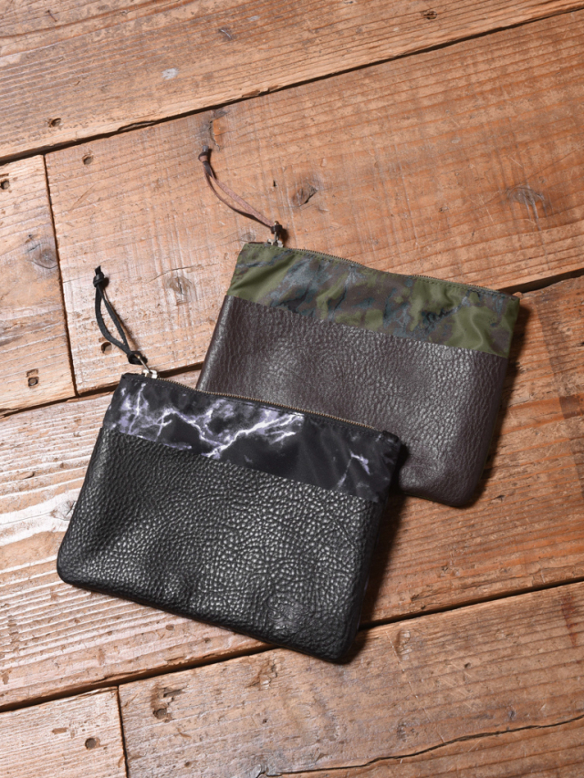 CALEE  「MARBLE PATTERN CLUTCH BAG <SMALL>」  クラッチバッグ
