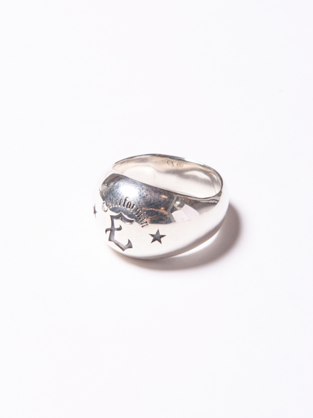 CALEE  「C LOGO CHAMPION RING 」 SILVER 925製 リング