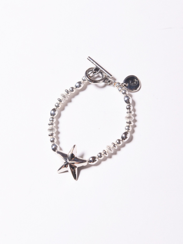 CALEE  「STAR CHAIN BRACELET 」  SILVER製 ブレスレット