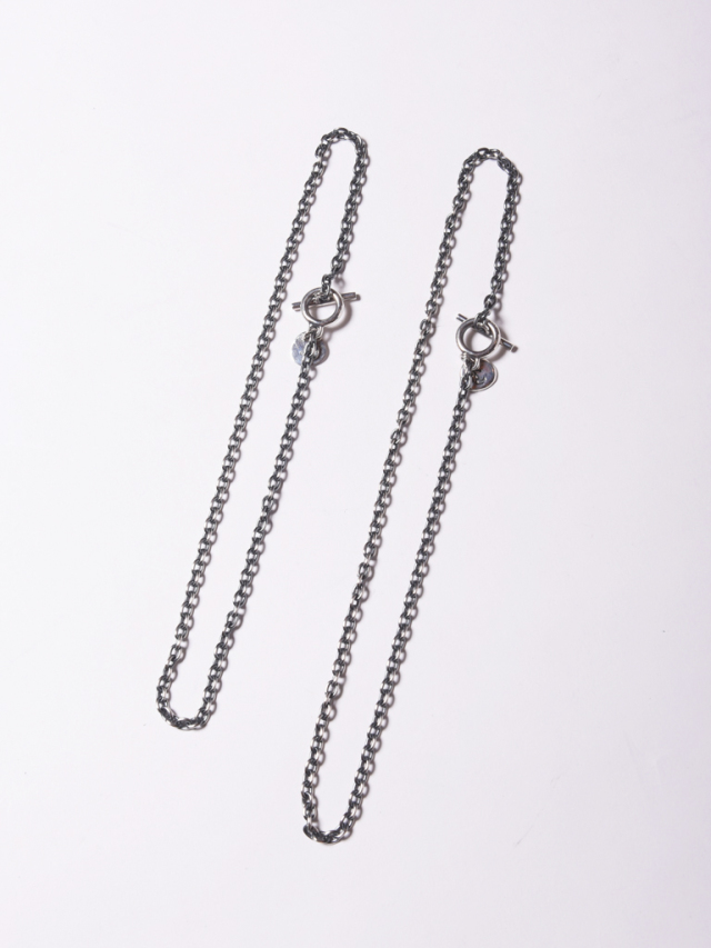 CALEE  「NECKLACE CHAIN LARGE 」  SILVER製 ネックレスチェーン