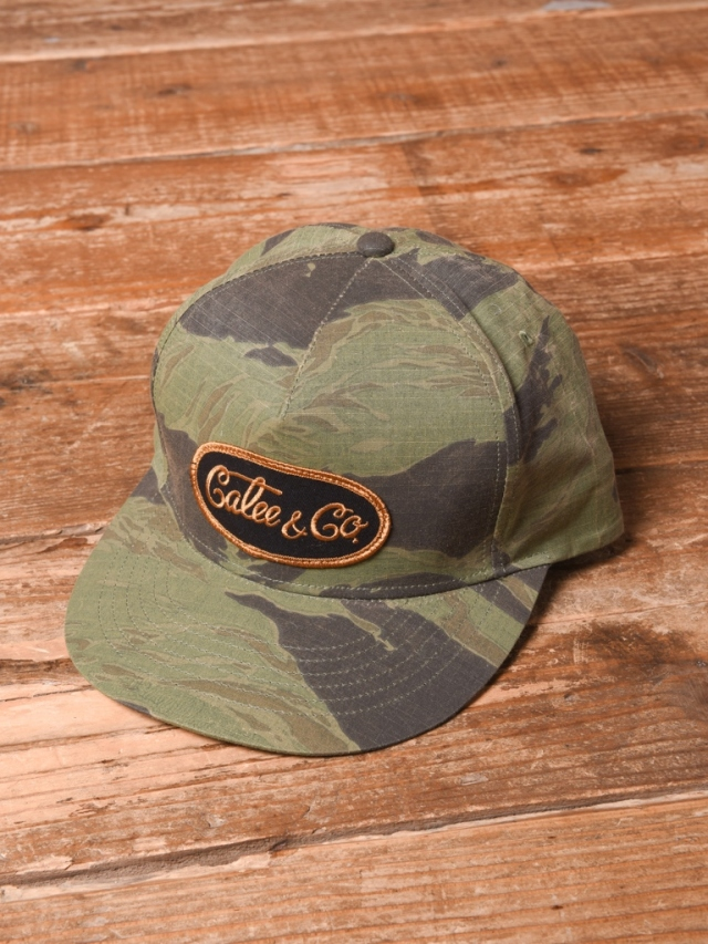 CALEE  「 TIGER CAMO WAPPEN CAP 」  ワッペンキャップ