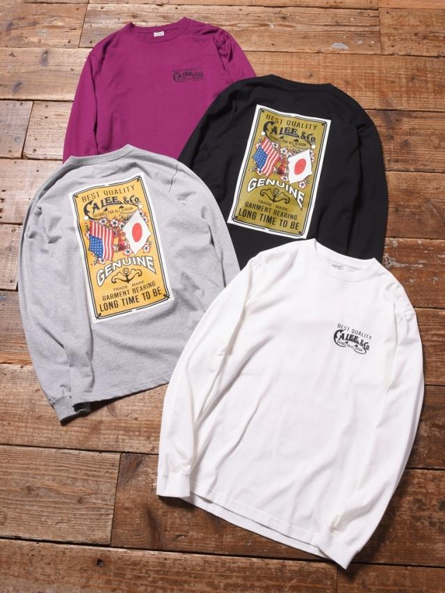 CALEE  「 MAIN LOGO L/S T-SHIRT  」 ロングスリーブティーシャツ