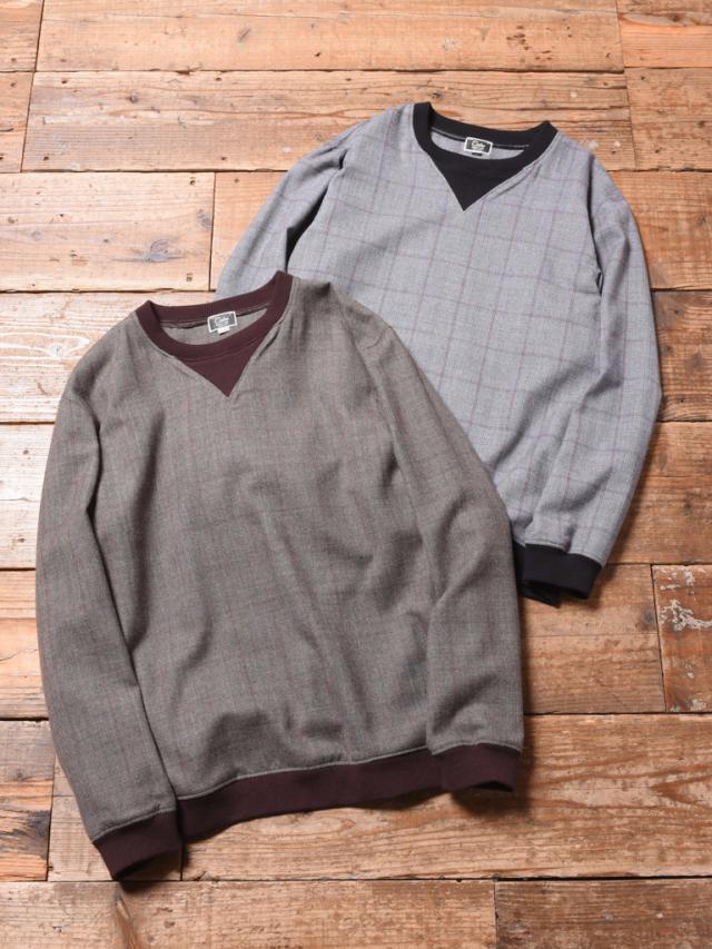 CALEE   「GLEN CHECK PULLOVER SHIRT」 グレンチェックプルオーバーシャツ