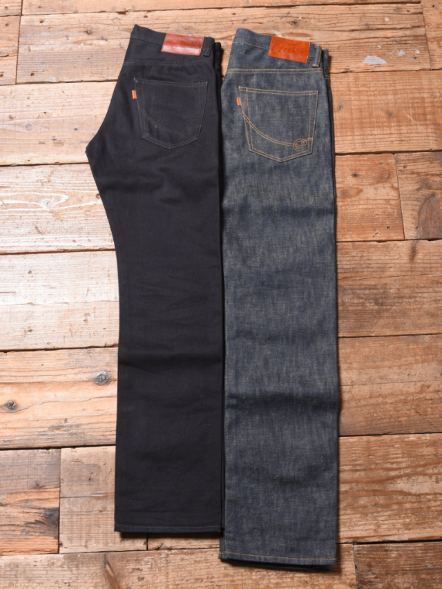 CALEE  「FIVE POCKET TAPERED SLIM DENIM PANTS 〈RIGID〉」 テーパードスリムデニムパンツ
