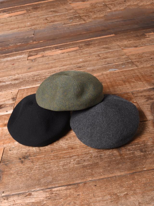 CALEE  「WOOL BERET」 ウールベレー帽