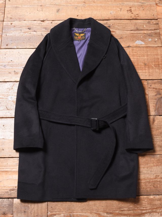 CALEE  「SHAWL COLLAR WOOL LONG COAT」   ウール ショールカラーコート