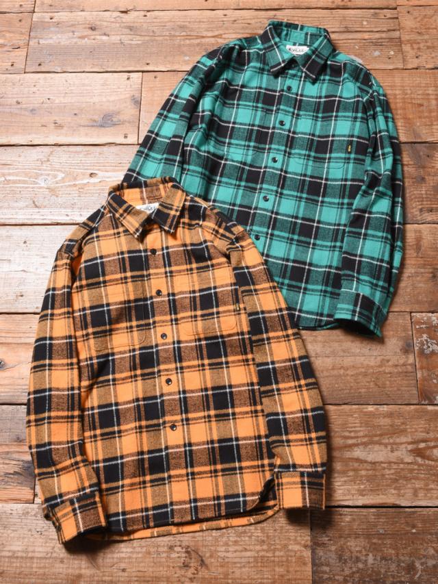 CALEE  「L/S DOBBY HERRINGBONE CHECK SHIRT」 ドビーチェックシャツ