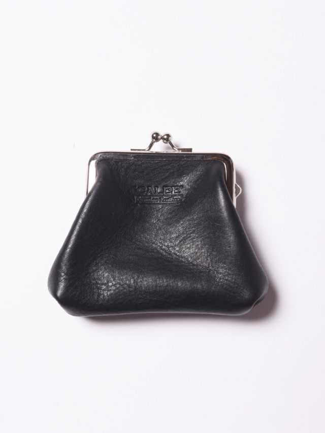 CALEE   「PLANE LEATHER COINCASE」  レザーコインケース