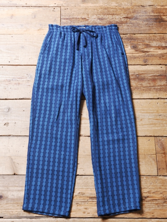 CALEE  「OLD JAPAN DIE DOBBY KUNG FU PANTS 」  コットンドビー イージーパンツ