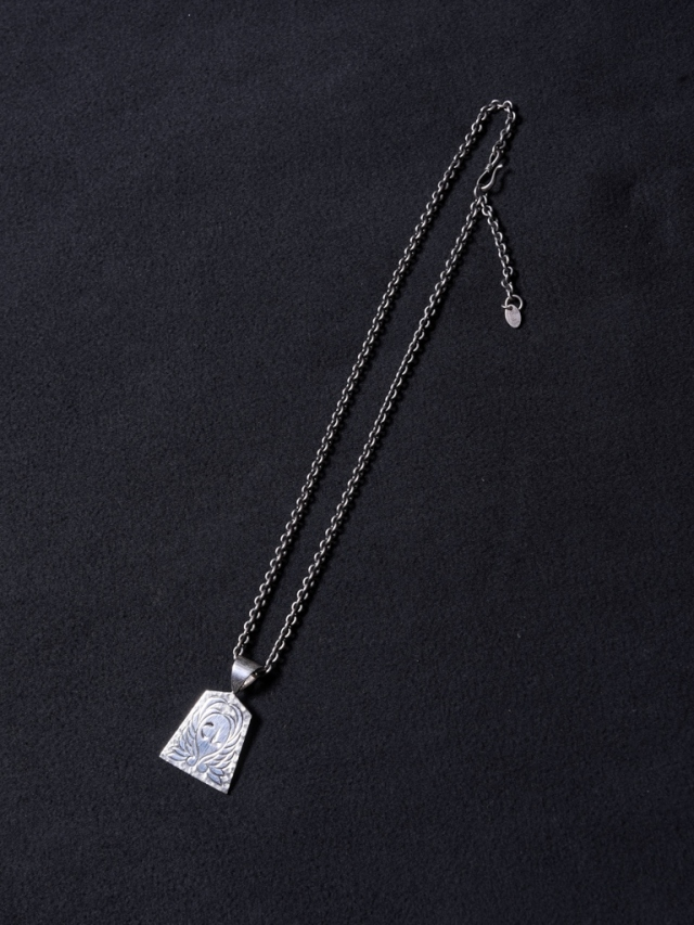 CALEE 「ORIENTAL HEAD NECKLACE  (SILVER925)」  SILVER製 ネックレス