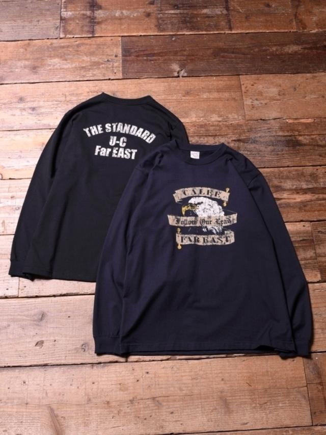 CALEE   「EAGLE PRINT L/S T-SHIRT」 ロングスリーブプリントティーシャツ