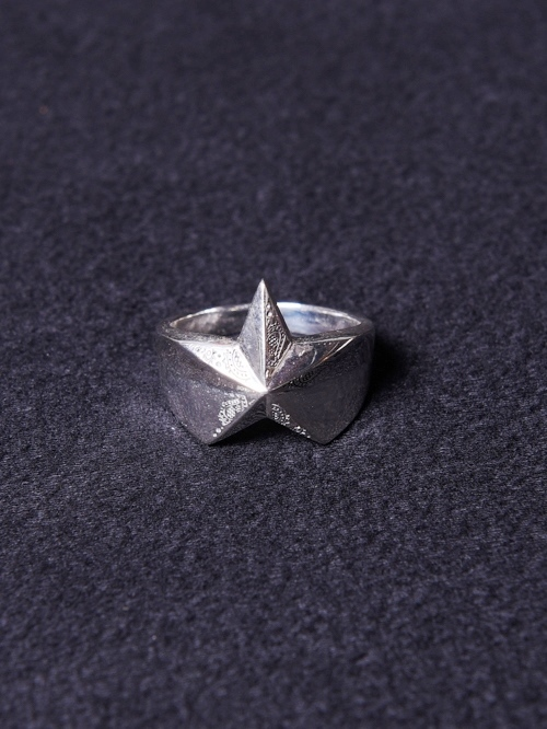 CALEE  「PAISLEY STAR RING」 SILVER 925製 リング
