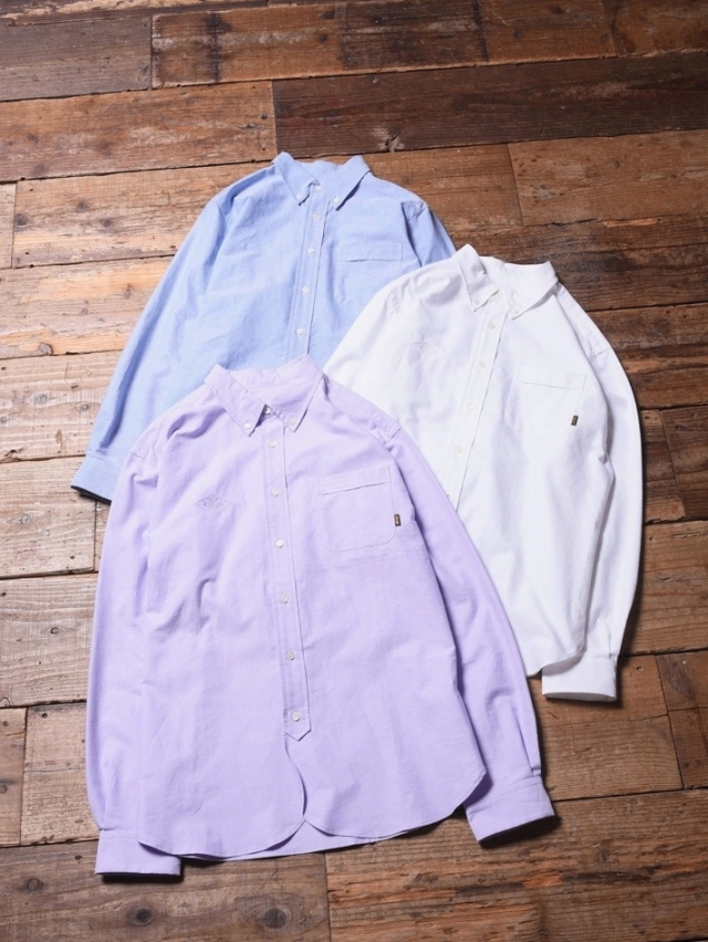 CALEE  「OXFORD BUTTON DOWN L/S SHIRTS」  オックスボタンダウンシャツ