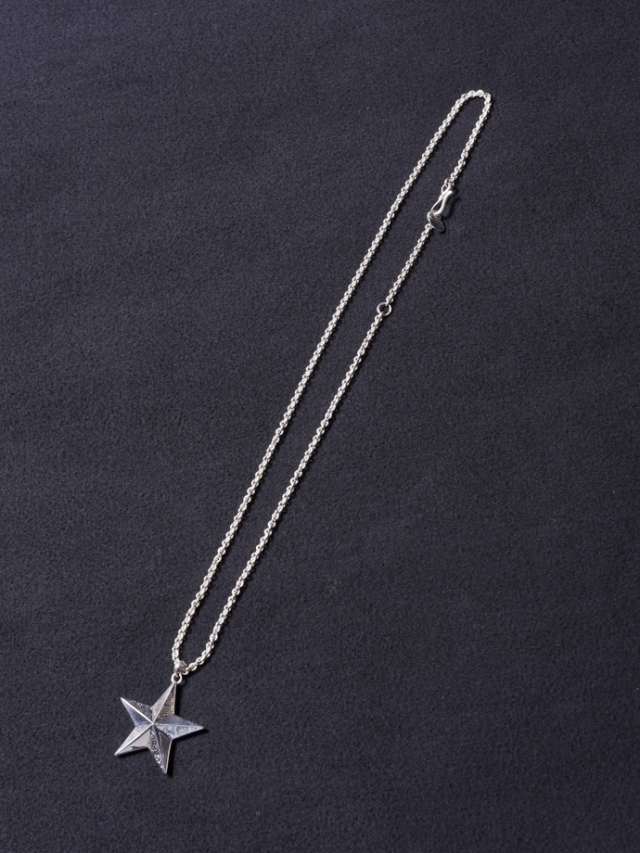 CALEE  「PAISLEY STAR HEAD NECKLACE 」 SILVER 925製 ネックレス