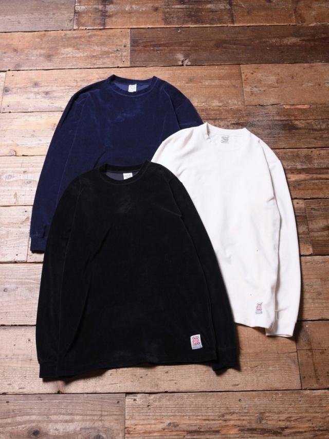 CALEE  「L/S CORDUROY T-SHIRT 」 ロングスリーブコーデュロイティーシャツ