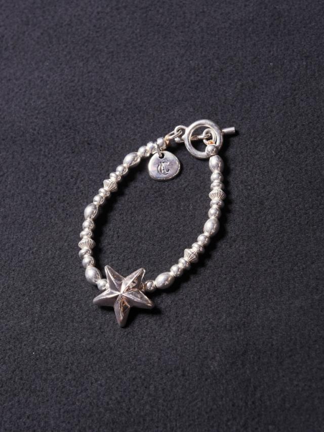 CALEE  「STAR CHAIN BRACELET 」  SILVER製 ブレスレット