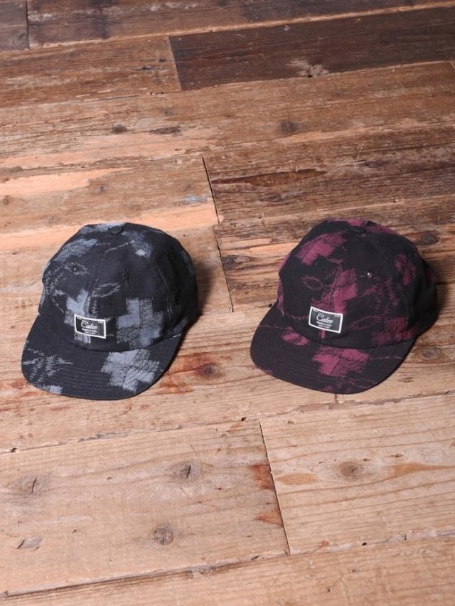 CALEE   「KASURI CHECK CAP」 キャップ