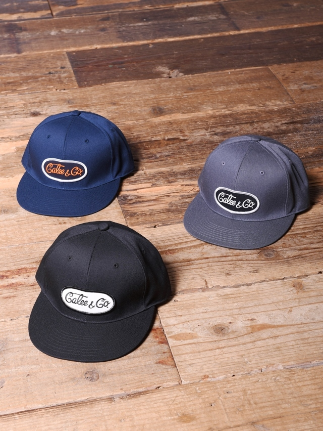 CALEE  「T/C TWILL WAPPEN CAP」  ワッペンキャップ