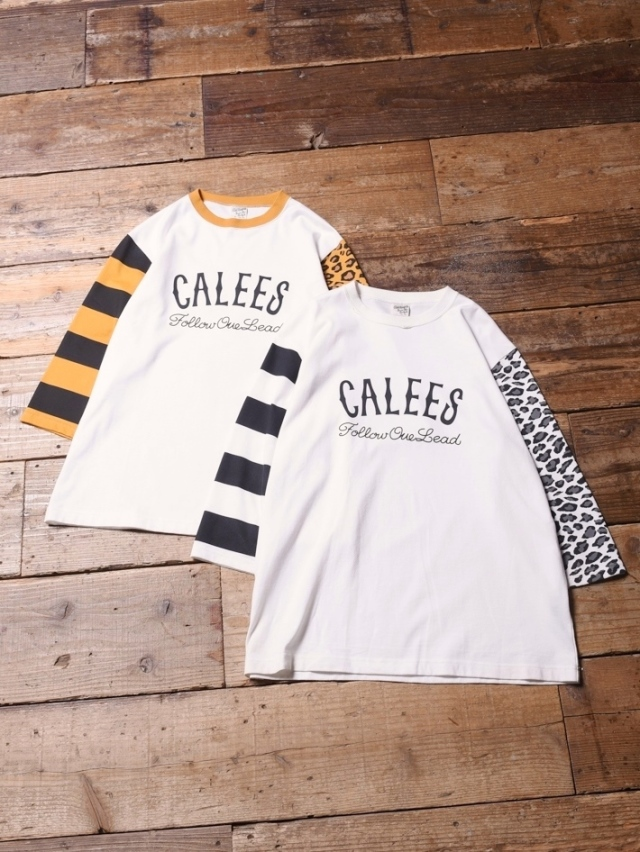 CALEE   「3/4 SLEEVE SET IN T-SHIRT」 セットイン 7分ティーシャツ
