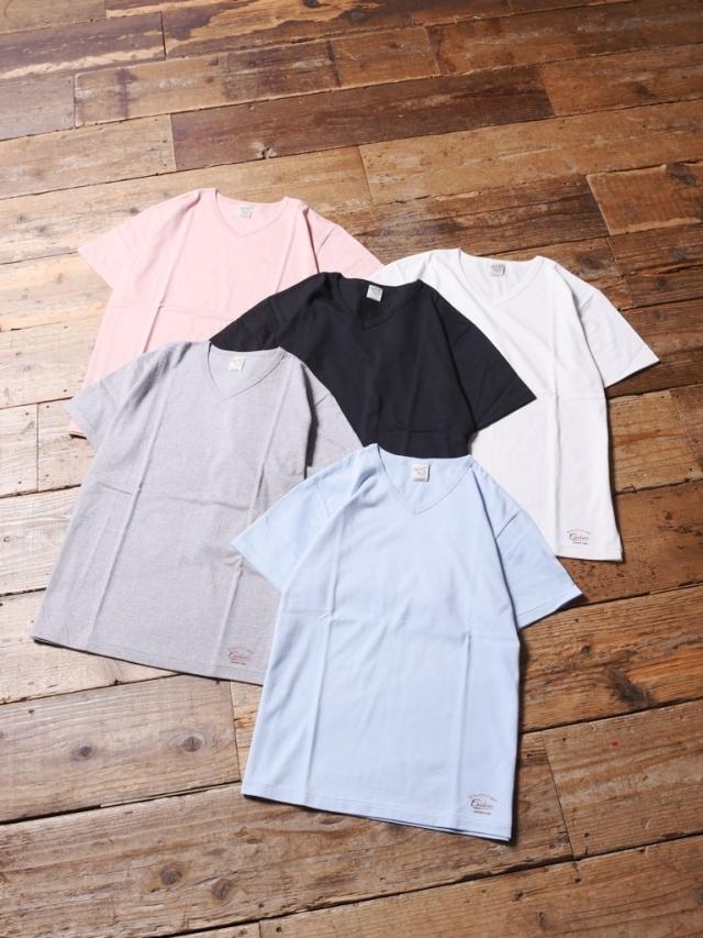 CALEE  「COTTON V-NECK T-SHIRT 」 ブイネックティーシャツ